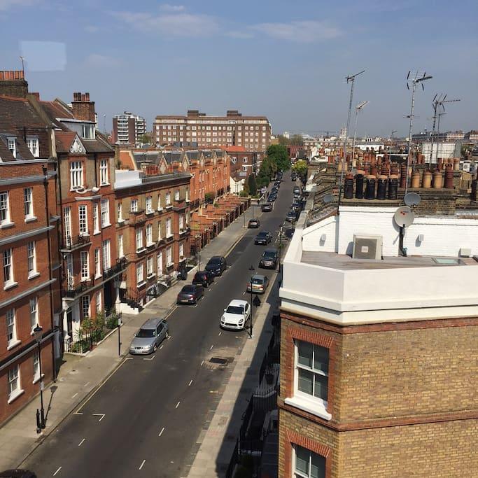 Top Floor apartment in Chelsea
