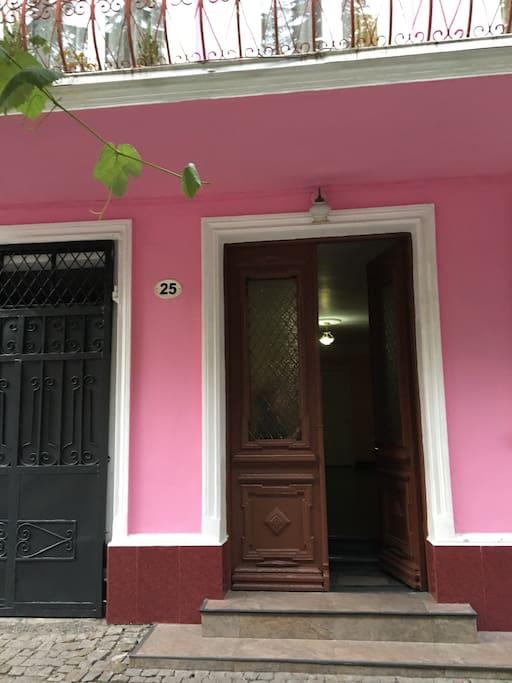 вход в дом