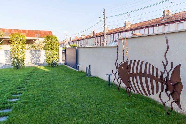 Maison rénovée,décorée avec goût!! - Cabourg, Dives sur mer - House