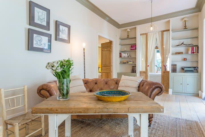 Bohemio apartamento en Huertas - Madrid - Casa