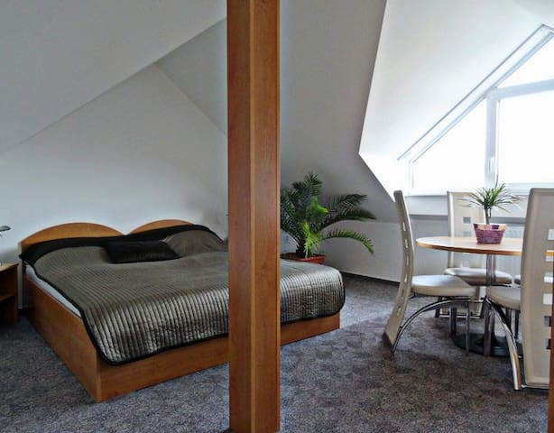 We offer an apartment in the attic of a house - Modřice - Gastsuite