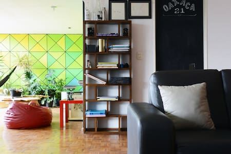 Room in spacious flat, Roma Norte