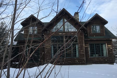 Ski In/ Ski Out Log Home Sugarloaf Maine - Carrabassett Valley