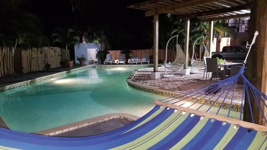 Caribbean Backyard - House