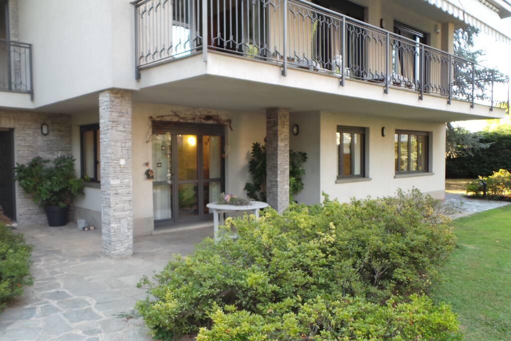 Ampio appartamento con giardino case in affitto a - Case con giardino in affitto ...