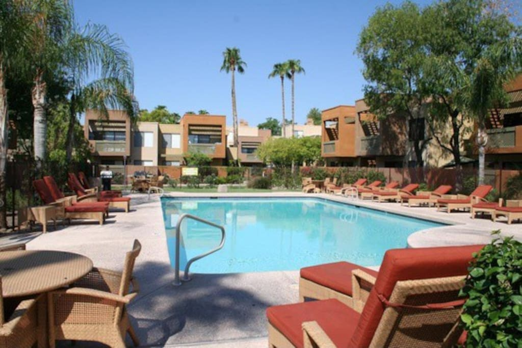 Retreat in the Heart Scottsdale Apartments for Rent