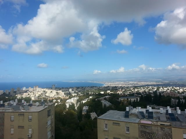 Wonderful sea view - Full apartment - Haifa - Apartmen