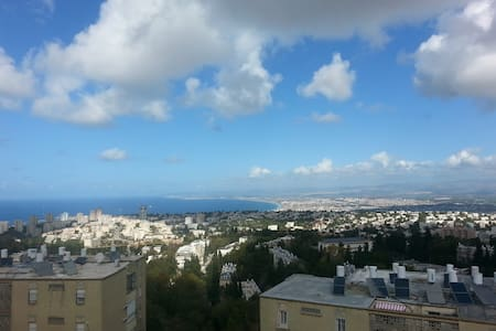 Wonderful sea view - Full apartment - Haifa - Appartamento