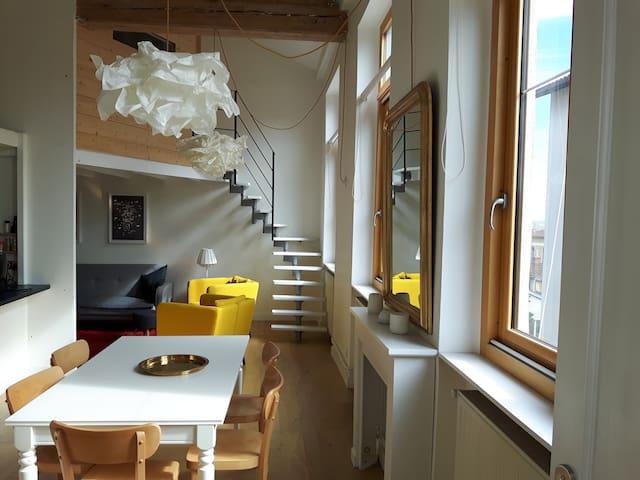 Appartement de charme, lumineux et au calme.