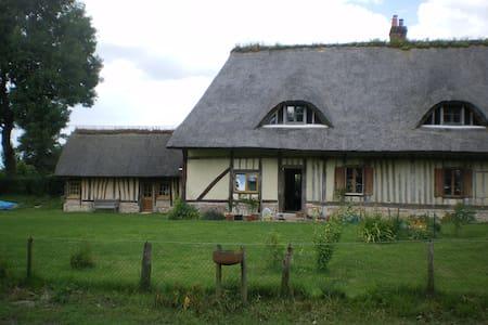 La Chaumière rustig in Normandië - Sainte-Foy - อื่น ๆ