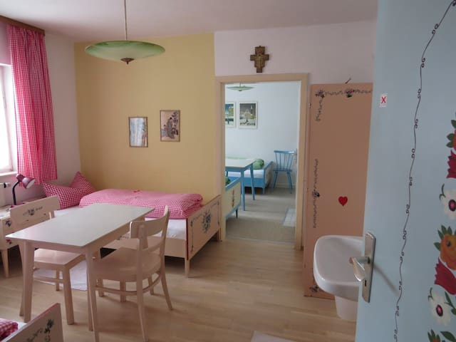Gästehaus Huber - 4er Zimmer 4 beds - Feichten - Dům