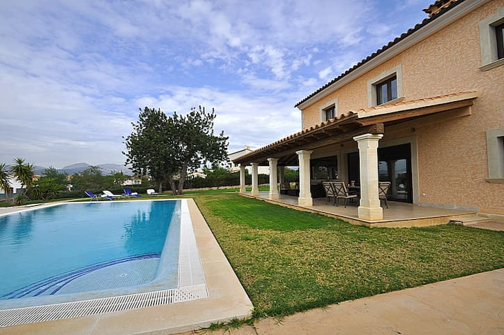 Outstanding Villa with pool for 8 pax in Marratxi - Marratxí - Casa