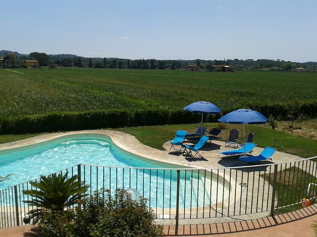 Villa2 with pool near Pisa Florence - Montopoli in Val D'arno - Departamento