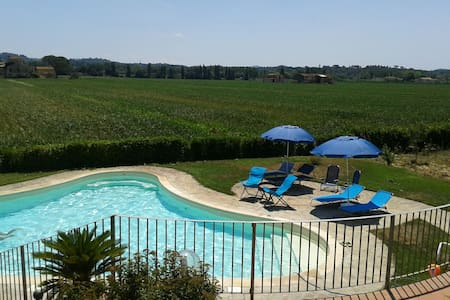 Villa2 with pool near Pisa Florence - Montopoli in Val D'arno - Apartamento