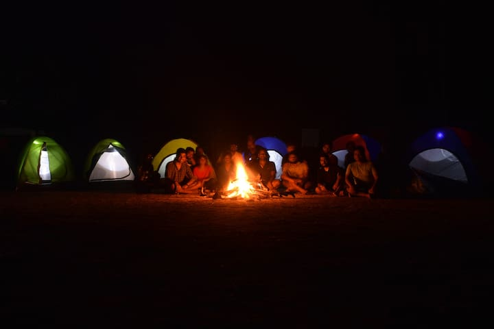 Camping at Shiva valley @ Kuduremukh Range