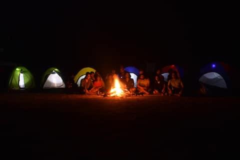 Camping at Shiva valley @ Kuduremukh Range