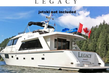 Private YACHT for charter - Vancouver