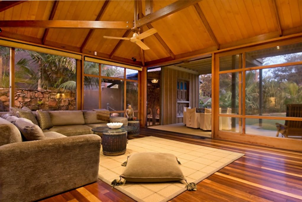 Gorgeous open living area