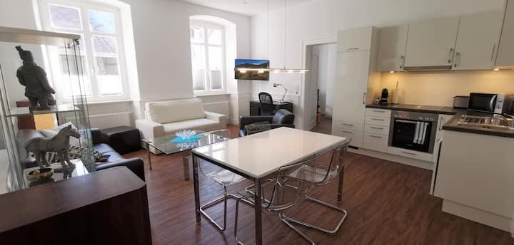 HOME OFFICE  nahe zur Schweiz, 30 Min. von Zürich