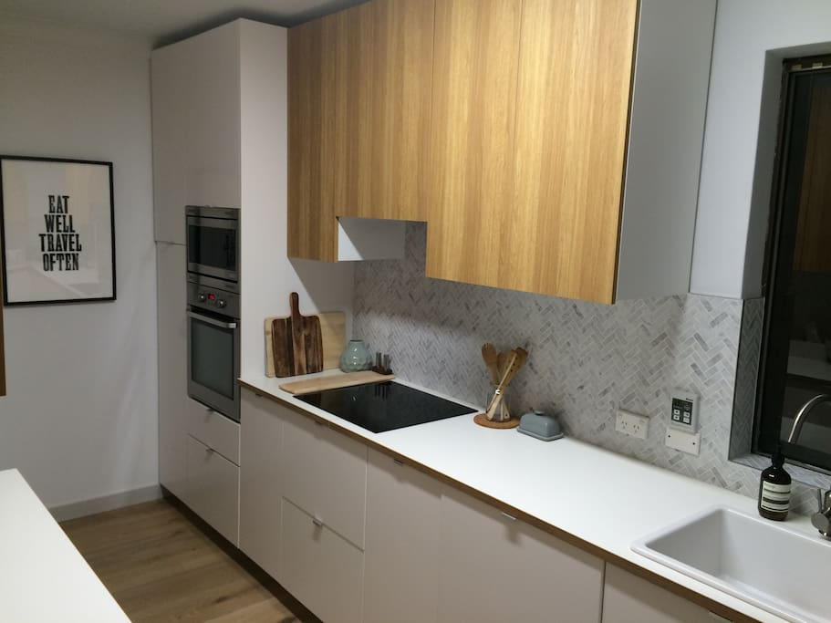 Eat well, travel often. :) Recently renovated kitchen - cook as if you were living at home!