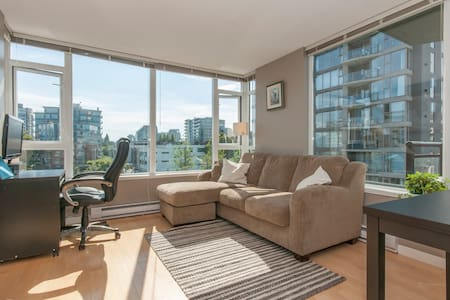 In one of the most desirable areas of the city, walking distance to Granville island, and Kitsilano beach. We keep our space very clean yet inviting. We won't be home during your stay, full private access to the apartment.