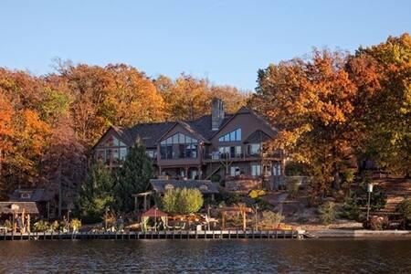 Cedar Lodge Arkansas Resort Lake Front Retreat