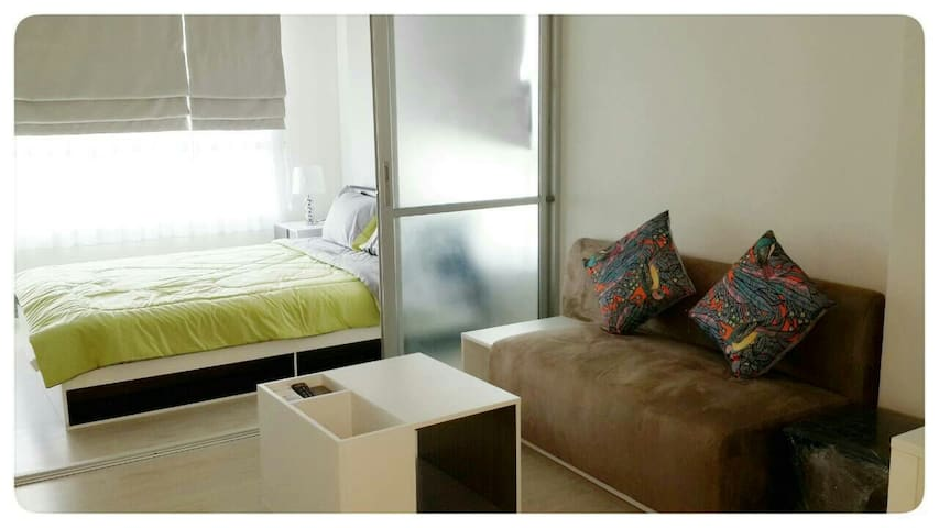 Modern 1 Bed room studio apartment - Maung Chiang Mai - Wohnung