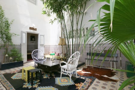 Riad house13 Small double room - Marrakesh - Bed & Breakfast