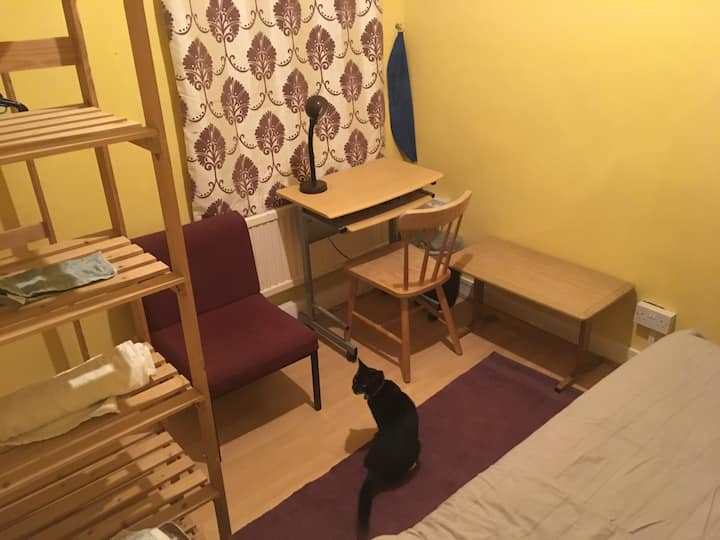 Light single bedroom in trendy central Levenshulme