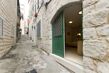 Studio apartment in center of Split, Croatia