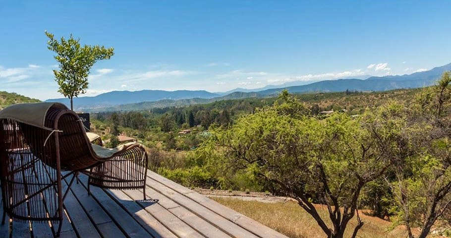 Cabaña CARMENERE - Limache - Nature lodge