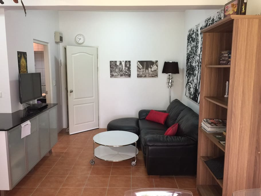 Comfortable time in the apartment