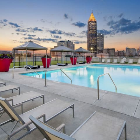 Private Room in Upscale Apartment near Downtown - Atlanta