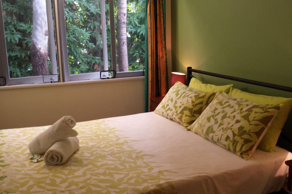 Second bedroom garden view