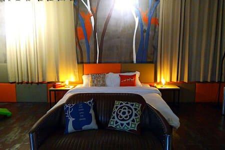 黄山辰光里客栈 新安江畔安静舒适的客栈 大暑房 家庭房 - Huangshan - Haus