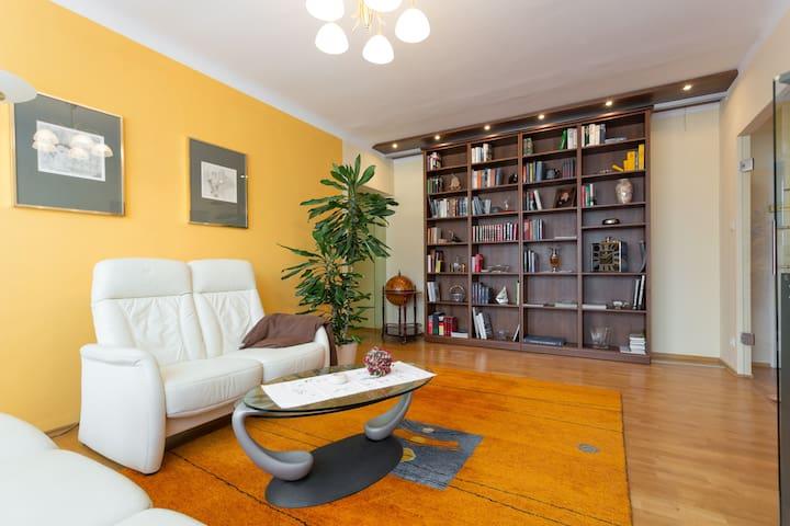 Ruhige Wohnung, Parklage, Zentrum - Baden
