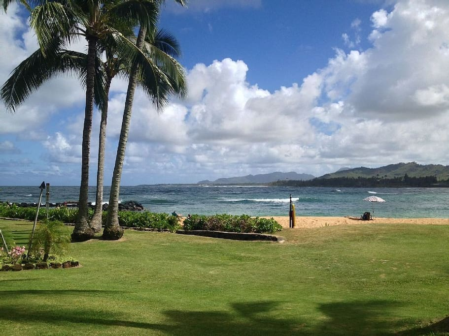 View from your lanai, 50 ft. to beach