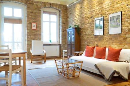 Trendy Industrial Style Flat at Famous Mauerpark