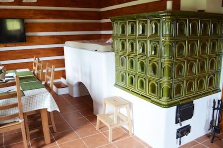 Romantická šumavská chalupa - Želnava - Casa