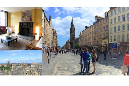 Central Edinburgh Royal Mile flat - Apartment
