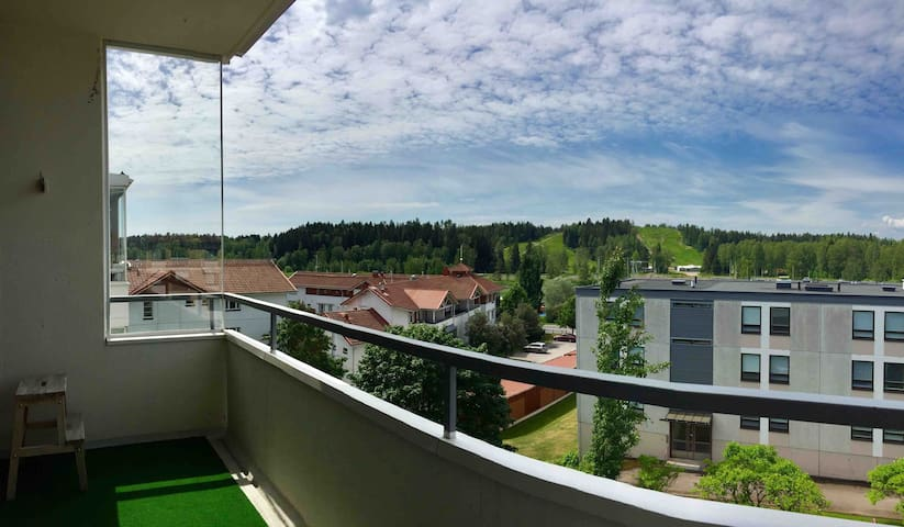 Apartment with a great view in the center of city