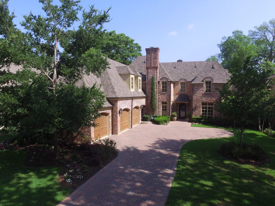 Stately Home located in  Preston Hollow. Dallas