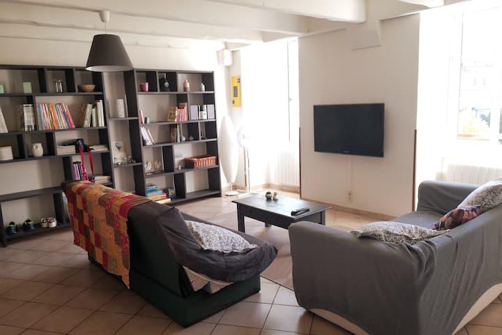 Appartement en duplex lumineux Les Vans
