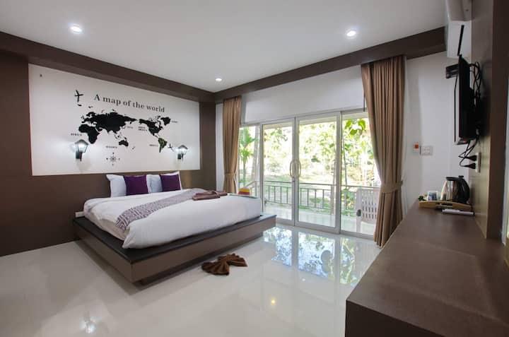 Khum Maikaew Resort Deluxe Queen P108