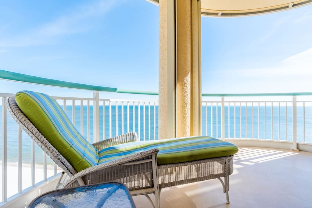 Enjoy the Tranquility from Your Private Balcony