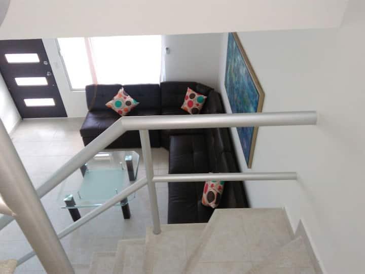 Casa Vacacional en Puerto Morelos, Cancun.
