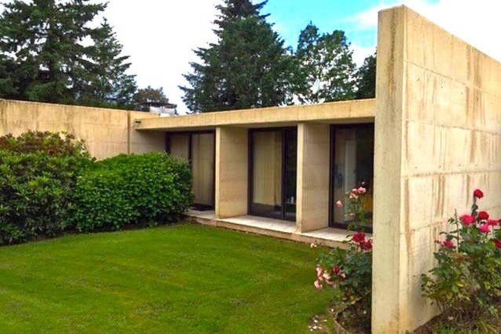 Chambre 40 m ind pendante maison d 39 architecte a20 in laws for rent in feytiat aquitaine - Maison architecte mark dziewulski ...