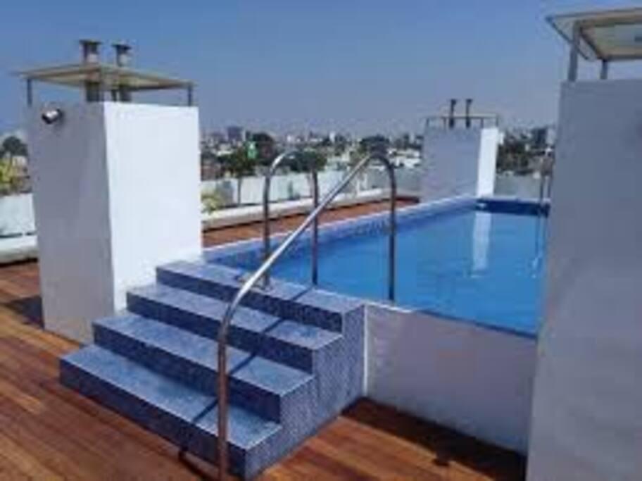 Terrace pool / piscina en la terraza