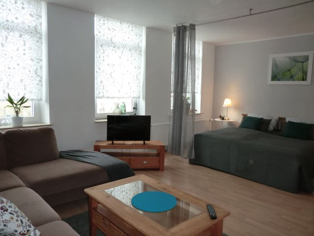 A cosy self contained studio apartment - Krefeld - Apartamento