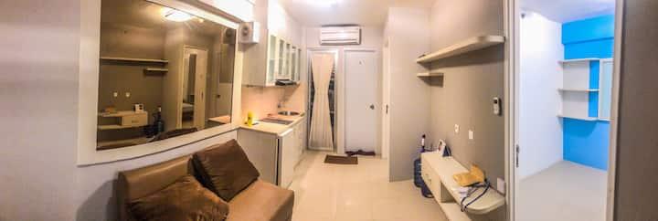 Stategic apartement with minimalis design